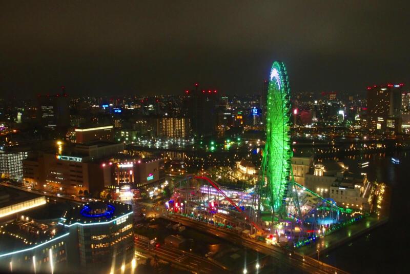 【宿泊記】ヨコハマ グランド インターコンチネンタルホテルから見る横浜みなとみらいの夜景が圧倒的すぎる件