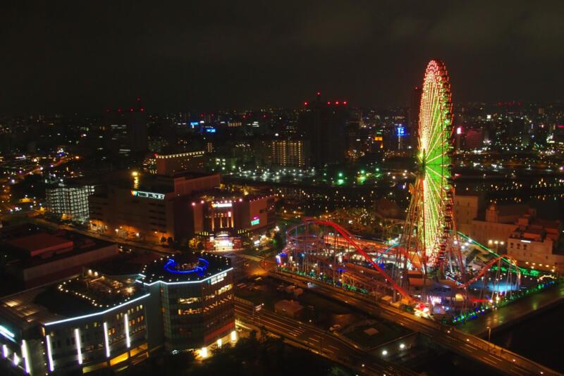 まばゆく輝く横浜の夜景