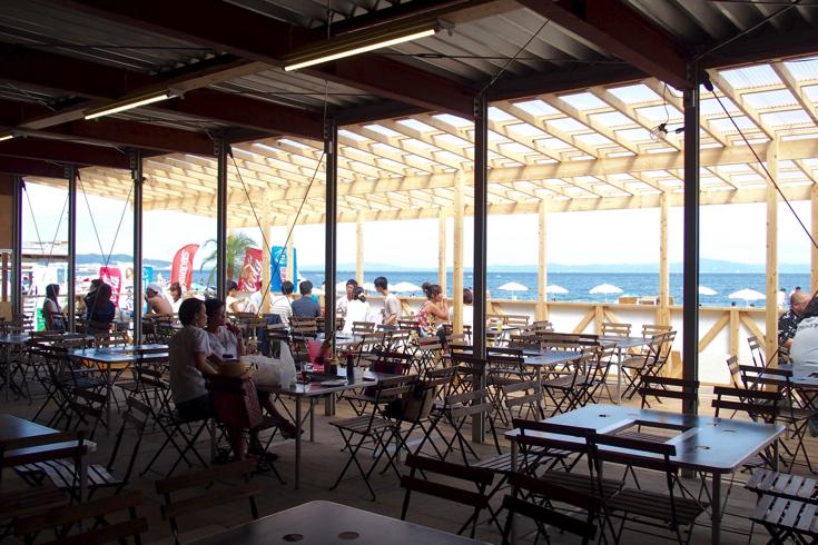 【三浦海岸】駅に着いたら5分で海!期間限定の海の家「SAGAMI茶屋」で海風感じながら手ぶらBBQしてきた #SAGAMI茶屋試食会