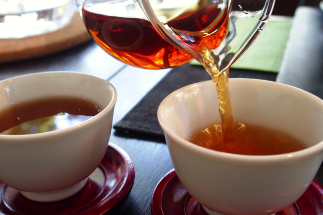 "【Omotesando】 Authentic Chinese tea at ""Yucha-cafe"" where you can do Nomad while looking at Omotesando"