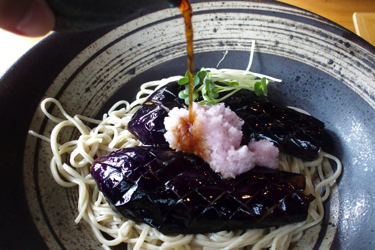 """[Ome City] Enjoy local vegetables while watching the superb view with """"Hand-made soba gourd"""" [AD]"""
