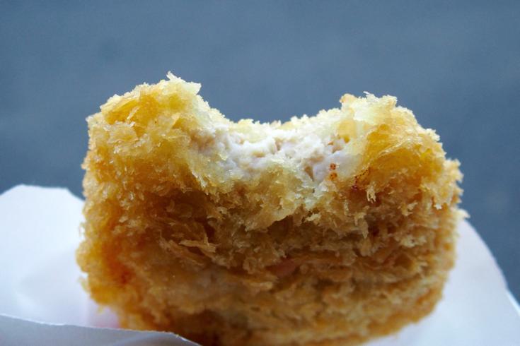 【茨城県守谷市】稲田鶏肉店のジューシー鶏肉メンチカツがウマイ!  #守谷ブロガーツアー