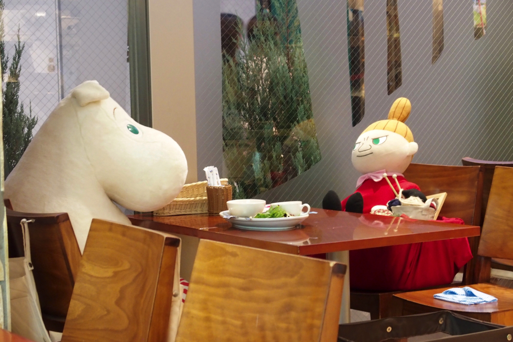 【Tokyo Sky Tree Town Soramachi】 I have had tea with my friends in the Moomin Valley at the Moomin House Cafe!