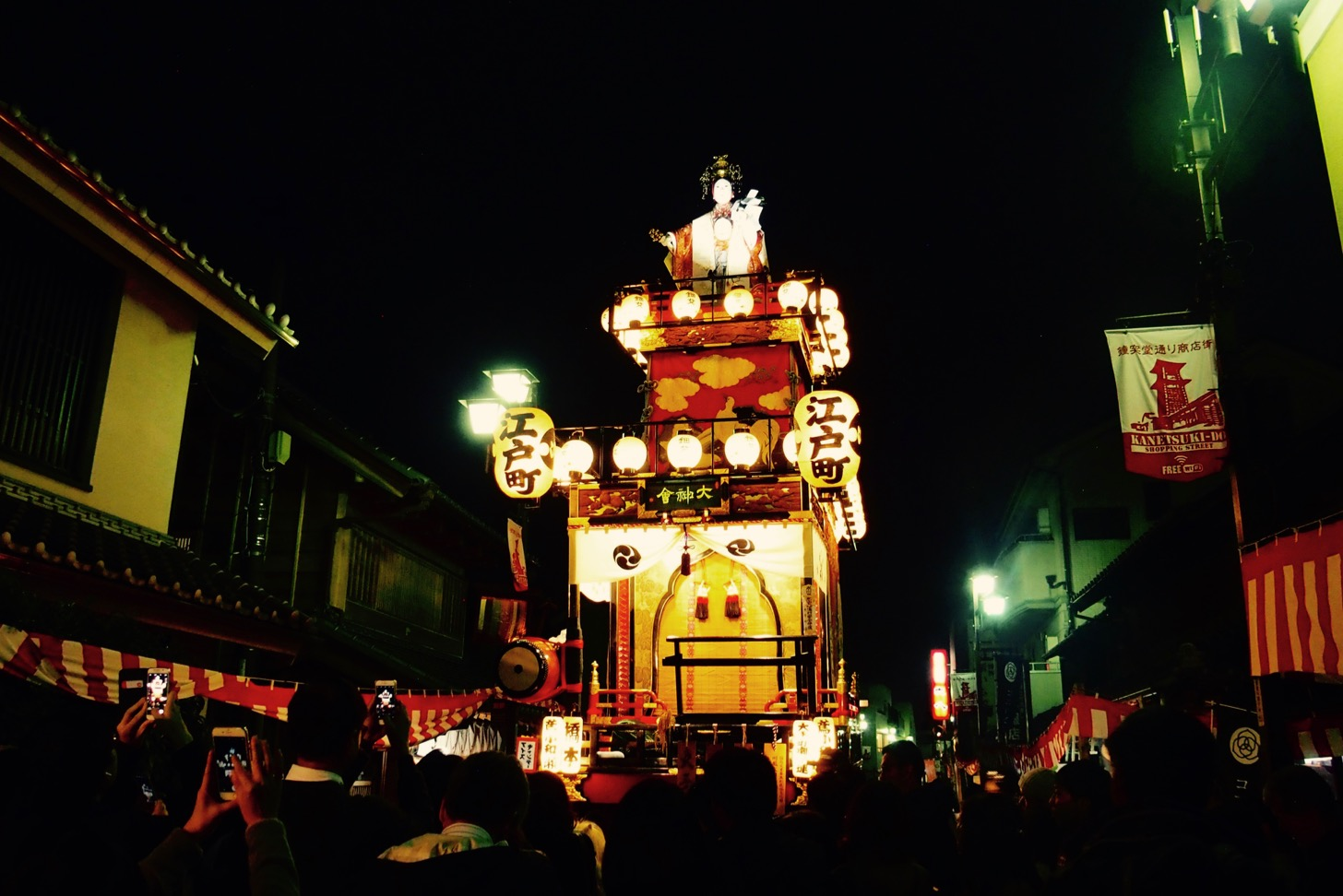 [Kawagoe Festival XNUM X] Sanpo while watching the fantastic festival registered as a UNESCO intangible cultural heritage