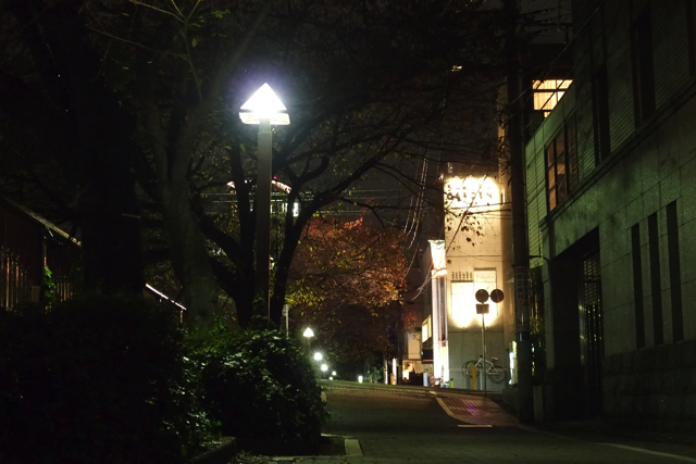 nakameguro 青の洞窟 消灯後