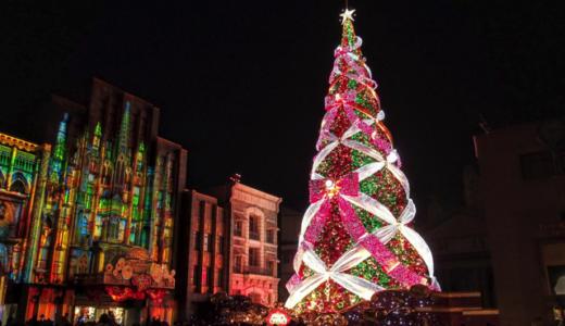 【ユニバーサル・ワンダー・クリスマスが開催中】USJで世界一の輝きのクリスマスツリーを見てきたよ!