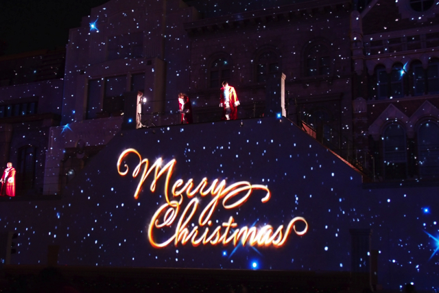 USJのユニバーサル・ワンダー・クリスマス