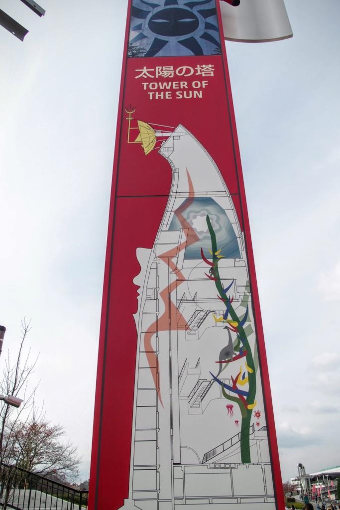 太陽の塔内部