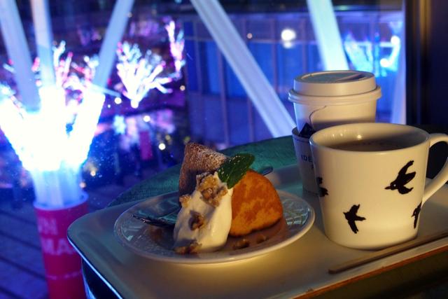 【六本木】カフェでゆっくり!東京ミッドタウン クリスマスイルミネーションおすすめの楽しみ方
