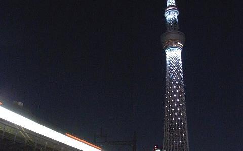 東京スカイツリー・クリスマスライトアップさんぽ