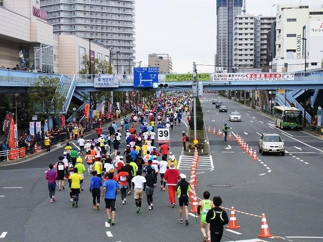 「東京大マラソン祭り2012応援ウォーク」に参加してきました!