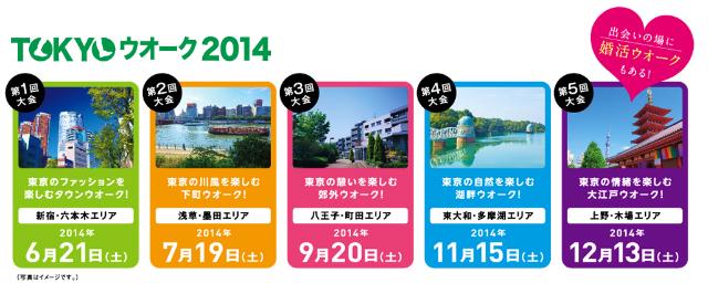 TOKYOウオーク2014