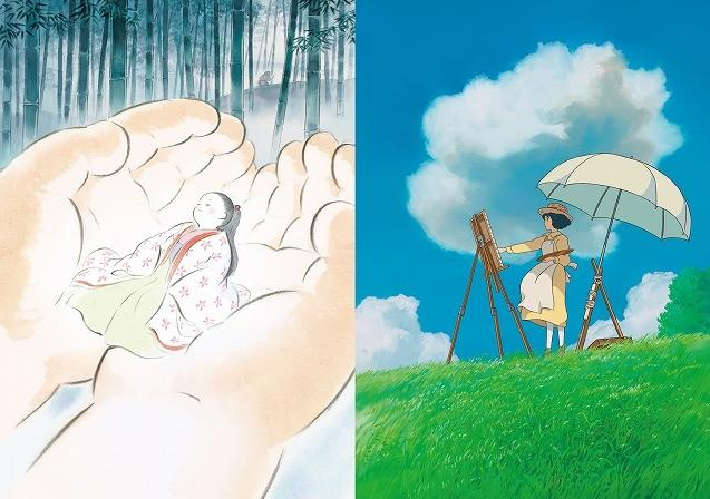 In the summer of 2013, two new Studio Ghibli new works are taken by Miyazaki and Takahata masters!