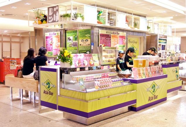 期間限定店舗「フルッタフルッタ アサイーバー渋谷ヒカリエShinQs店」が常設店舗へ 10/4リニューアルオープン
