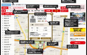 第92回箱根駅伝速報マップ