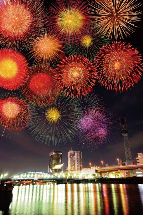 隅田川花火大会(東京都台東区)