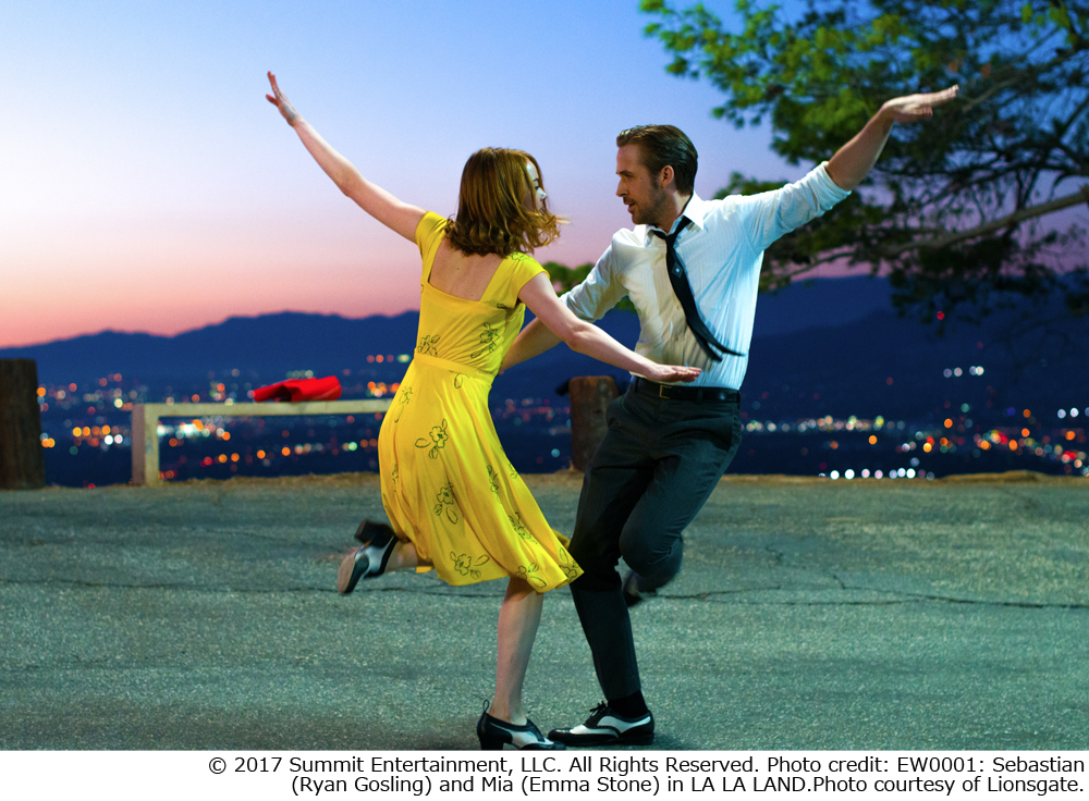 """The movie """"La La Land"""" starts video distribution with U-NEXT and au video pass! You can see it for the first time free!"""