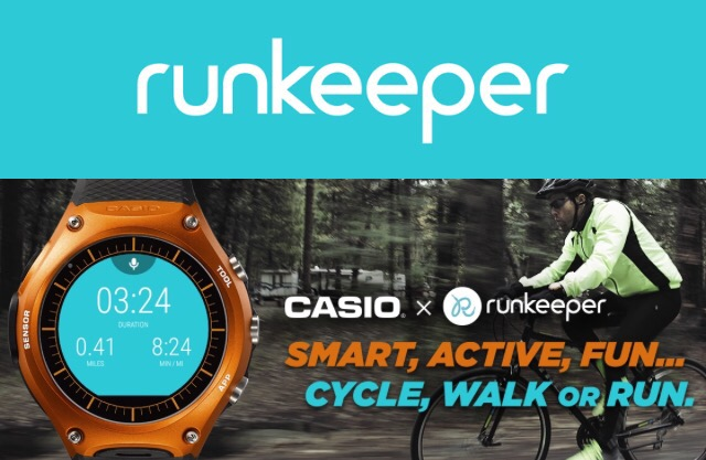 【Runkeeperのチャレンジ企画】CASIOのスマートアウトドアウォッチ「WSD-F10」が当たるかも