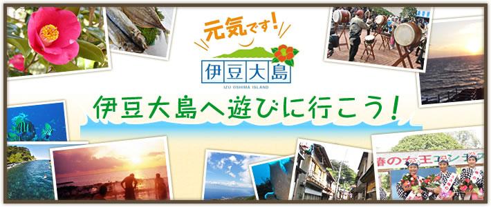 伊豆大島へ遊びに行こう!伊豆大島で宿泊費用の割引が開始