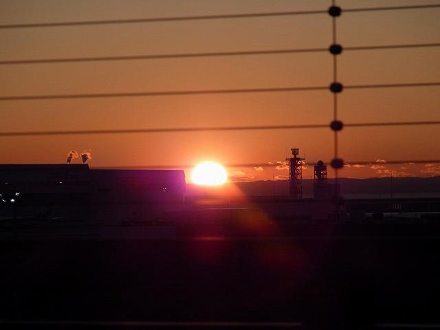 羽田空港 初日の出