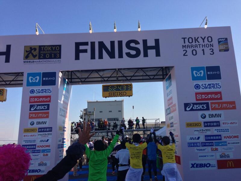 東京マラソン2013完走レポート 人気の本当の理由が分かった気がする