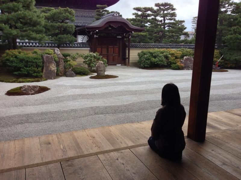 雨の京都へ(週刊 東京散歩ぽ4/8)