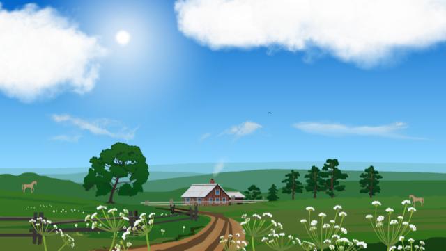 美しいアニメーションのお天気iPhoneアプリ「YoWindow」に癒される