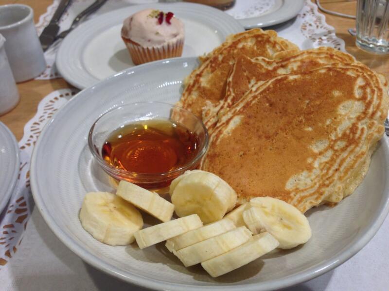 【銀座】ユニクロ銀座に直結の「ローズベーカリー銀座」でパンケーキを食す