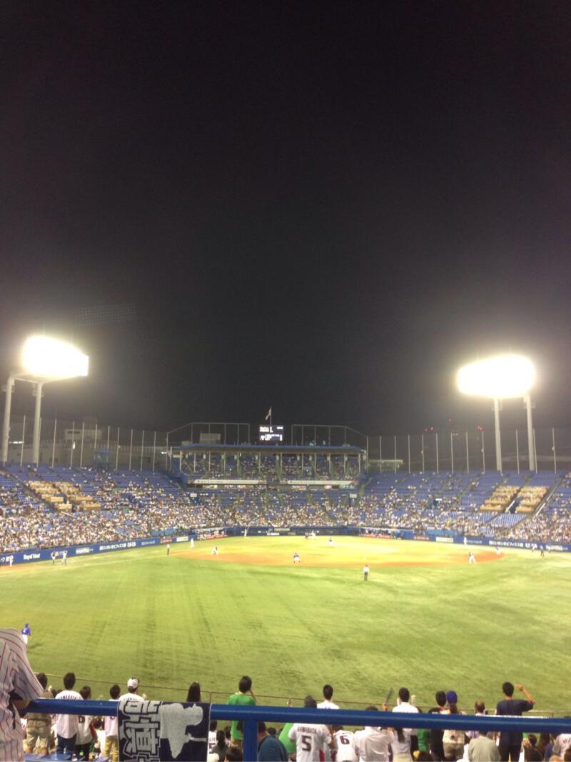 夏の終わりに神宮球場で野球観戦!(週刊 東京散歩ぽ9/3)
