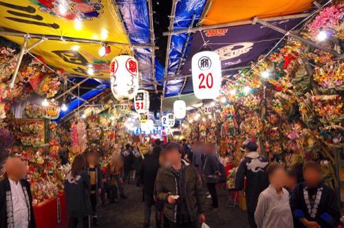 【今年は三の酉まで!】新宿・花園神社で酉の市はじまる